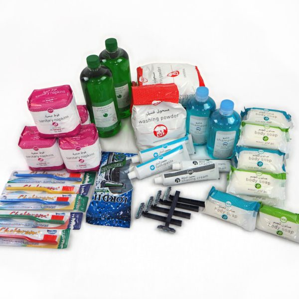 Hygiene kit - family of 5 people and 1 month - Alpinter